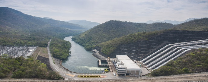 Powerhouse Srinakarin dam
